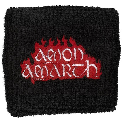 Amon Amarth - Red Flame Logo