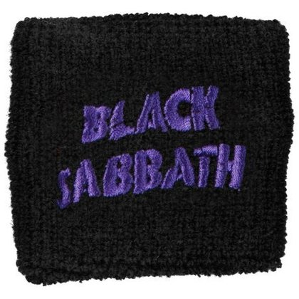 Black Sabbath - Purple Wavy Logo