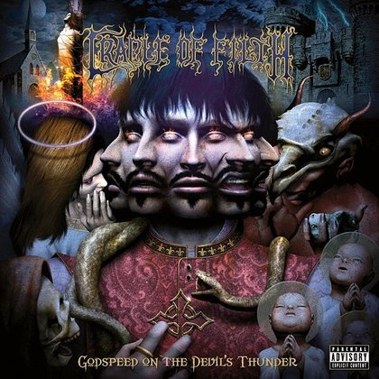 Cradle Of Filth - Godspeed On The Devil´s Thunder