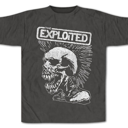 Exploited, The - Vintage Skull