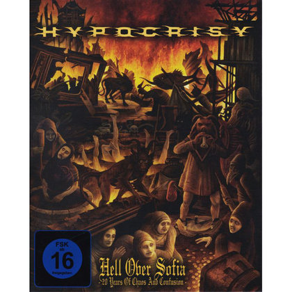 Hypocrisy - Hell over Sofia - 20 Years of Chaos and Confusion (Ltd.)