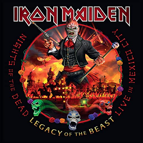 Iron Maiden - Nights Of The Dead: Live in Mexico City
