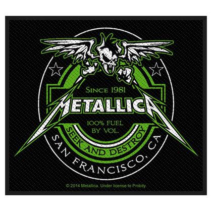 Metallica - Beer Label