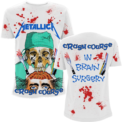Metallica - Crash Course In Brain Surgery