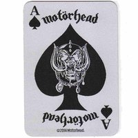 Motörhead - Ace Of Spades Card