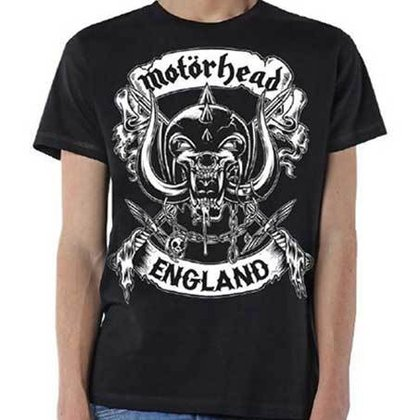 Motörhead - Crossed Swords / England Crest