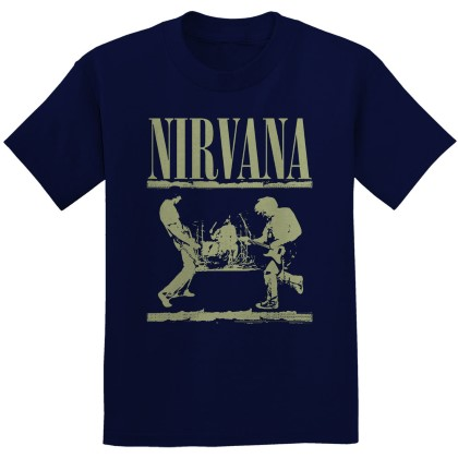 Nirvana - Stage (Navy)