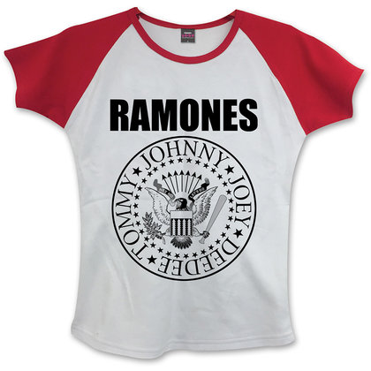 Ramones - Presidential Seal (White/Red)